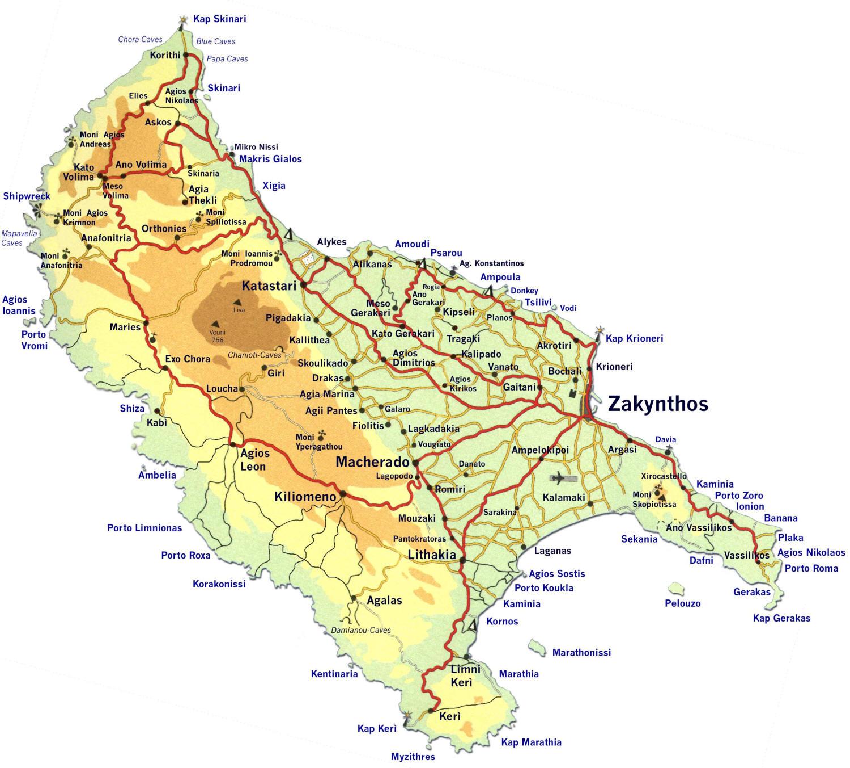L\'isola di Zante, come muoversi, quali posti evitare, luoghi da ...